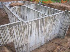 Build an 11,000 gallon rainwater collection cistern