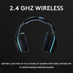On amazon!!! The most advanced wireless gaming headset yet from Logitech G. 2.4 GHz wireless delivers premium Sound, complete freedom and a clean Set up without wires. Default lighting- 8 hours. No lighting-12 hours Large 50mm Pro-G drivers lets you hear more of the game environment in greater detail Lightsync RGB game-driven lighting, EQ settings and more can be customized through downloadable Logitech G hub software. Requirements - Windows 7 or later, macOS 10.11 or later, Chrome OSTM, Best Gaming Laptop, Pc Computer, Gaming Headphones, Gaming Headset, People With Glasses, Best Pc Games, All In One Pc, Game Environment, Surround Sound