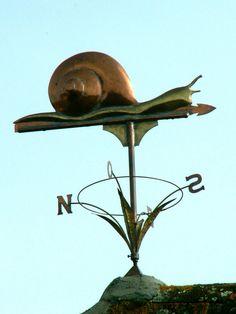Snail Weathervane