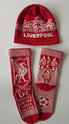 Fair Isle Knitting, Knitting Machine, Manchester United, Mittens, Liverpool, Knitting Patterns, Crochet Hats, Socks, Christmas