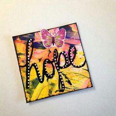 Diane's Mixed Media Art - inchie # 302... Journal Art, Art Journals, Bullet Journal, Mini Doodle, Art Journal Tutorial, Collage Art Mixed Media, Mini Canvas, Artist Trading Cards, Heart Art