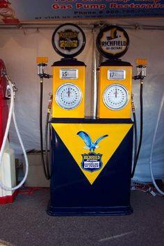 richfield gas pump - Google Search