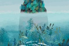 Digitally Delightful Landscapes Invite You to Look Around and Stay A While