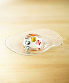 とらやブログ: きらくめくビー玉のお菓子です。びーどろ玉