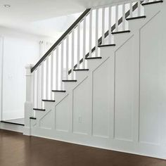 Photo: David Prince | thisoldhouse.com | from Before and After Cape Cod - redone staircase - opened up from a closed wall stair case.