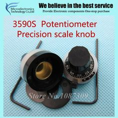 WXD3-13 3590S 4mm 6mm 6.35mm Potentiometer Precise Dial knob lockable Hat new original #Affiliate