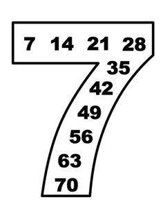 Multiplication table and magical numbers. The multiplication table . Addition Worksheets, Math Worksheets, Math Activities, Math Addition, Teacher Education, Education Quotes, Montessori Math, Math Multiplication, Reading Intervention
