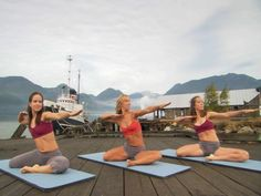 Namaste: Firebird Yoga Video with Michelle Trantina