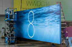 Apple's WWDC banners show iOS 8 is coming | The Verge