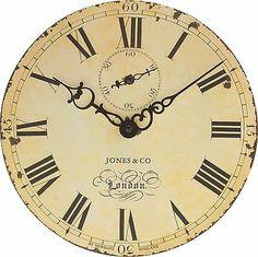 Jones Cream Hepburn Wall Clock At Homebase Be Inspired