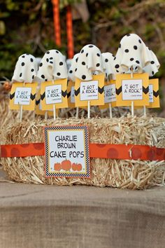 Charlie Brown and the Great Pumpkin Party from MakingLifeWhimsical.com