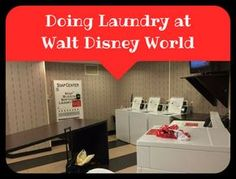 Doing laundry at Walt Disney World is not a fun way to spend your vacation. But if you are like me, you either want to pack light or you just don't own enough clothes to last the entire length of your trip. If you have to do laundry, here are some tips to help you get through it.