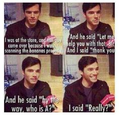 Funny Moment with Ian Harding PLL