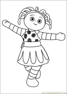 23 In the night garden printable coloring pages for kids. Find on coloring-book thousands of coloring pages. Garden Coloring Pages, Coloring Pages To Print, Colouring Pages, Printable Coloring Pages, Coloring Pages For Kids, Coloring Books, Colouring Sheets, Kids Coloring, Garden Birthday
