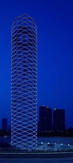 Tower of Ring in Tianjin, China.