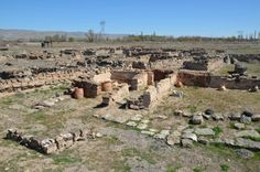 The ruins of Karum, the capital trading centre of the Assyrian merchants in Anatolia in the first quarter of the 2nd millenium BCE. Hittite