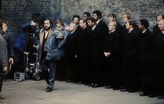 Stanley Kubrick on the set of A Clockwork Orange, 1971 Stanley Kubrick Quotes, A Clockwork Orange, Roisin Dubh, Anthony Burgess, Great Movies, Cinematography, Snake Skin, Actors & Actresses, Movie Tv