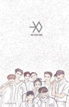 Image shared by baekon. Find images and videos about exo, text and baekhyun on We Heart It - the app to get lost in what you love. Baekhyun Fanart, Exo Chanyeol, Kpop Exo, Exo Cartoon, Exo Anime, Exo 12, Exo Group, Exo Album, Exo Fan Art