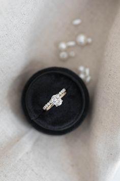 Amelia Wedding Sets, Wedding Bands, Dream Wedding, Olive Avenue Jewelry, Moissanite Rings, Wedding Rings Vintage, Jewelry Companies, Amelia, Diamond Rings