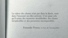 Fernando Pessoa Le Livre de l'Intranquilité