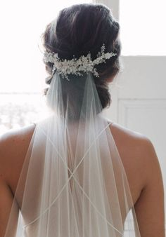 Tania Maras MARION floral bridal comb 2