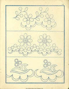 Free Easy Cross, Pattern Maker, PCStitch Charts + Free Historic Old Pattern Books: Fr - Alexandre Cutwork Embroidery, Hand Embroidery Designs, Vintage Embroidery, Cross Stitch Embroidery, Embroidery Patterns, Machine Embroidery, Crazy Quilting, Free Motion Quilting, Craft Patterns