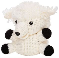 Cuddly Crochet Adorable Toys Hats and More to make - pattern sheep