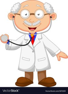 Illustration about Illustration of Doctor cartoon with stethoscope. Illustration of posing, lifestyle, occupation - 34606580