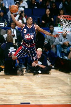 Steve Francis could fly.    For the latest Houston Rockets news and updates, visit www.rockets.com.