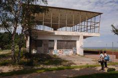 """1966: Gaststätte """"Inselparadies"""", Baabe auf Rügen"""