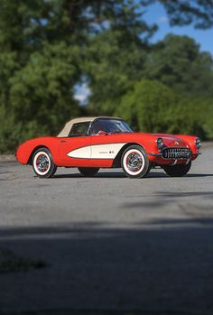 It doesn't get any better than a 1957 Corvette for a speedy way to get out of town