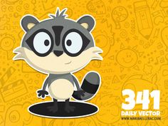 341- Raccoon (To see them all click on the image)