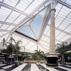 Skylight for Mall Del Norte completed by CPI Daylighting