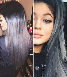 Kylie's grey hair was so dope