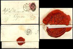 GB QV 1872 LONDON JOINT STOCK BANK LETTERHEAD + SEAL 3d SG103 Plate 7 to COGNAC   eBay
