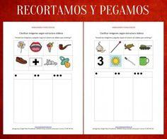 Orientación Andújar: Habilidades fonológicas recorta las imágenes y pégalas…
