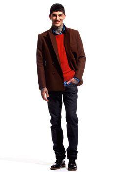 Ami Fall 2012 Menswear
