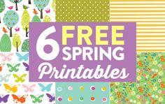 6 Free Spring Printables