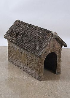 French Vintage Faux Bois Animal House