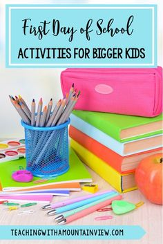 Heading back to school in third, fourth, or fifth grade? Now is a great time to plan new activities for the first week of school to help your upper elementary students transition back from summer with ease.