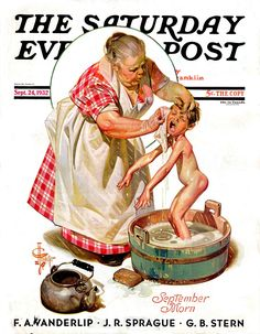Saturday Evening Post Illustrated by JC Leyendecker September 1932