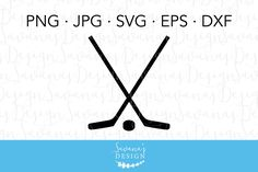 Ice Hockey Clipart and Cut Files #ready#cutting#files#DXF