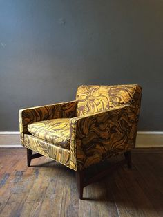 A personal favorite from my Etsy shop https://www.etsy.com/listing/256780065/mid-century-modern-arm-chair-milo