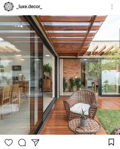 stylishly enjoyable backyard furniture ideas you'll adore 64 « Dreamsscape House Design, Home, Terrace Design, House Exterior, Patio Design, Backyard Furniture, Exterior Design, Home Deco, Patio Interior
