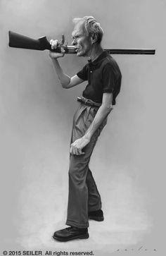 (2) Clint for Aardman - JASON SEILER ILLUSTRATION
