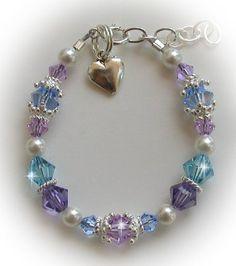 violet swarovski crystal beads - Google Search