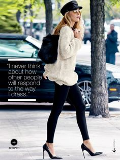 : So My Style - Blake Lively for Lucky Mag :