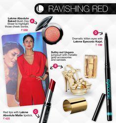 Kareena Kapoor rocking in red.