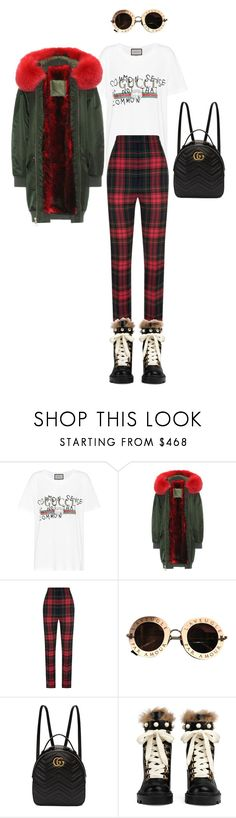 """Untitled #646"" by milly-oro on Polyvore featuring Gucci, Mr & Mrs Italy and Burberry"