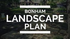 Bonham Landscape Plan Texas Landscaping, How To Plan, Landscape, Bricks, Facebook, Scenery, Landscape Paintings, Brick, Corner Landscaping